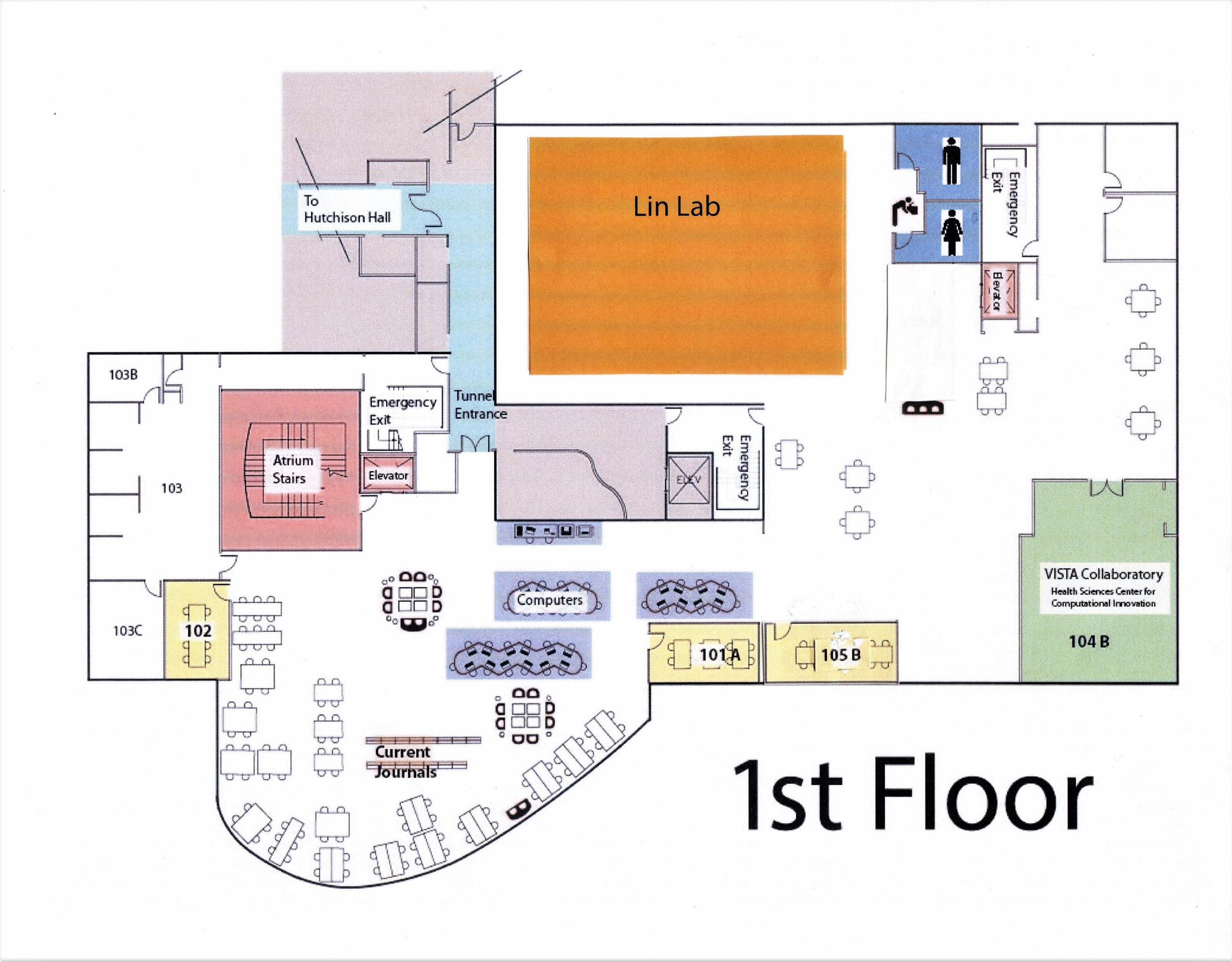 Carlson Library Floor Plans River Campus Libraries
