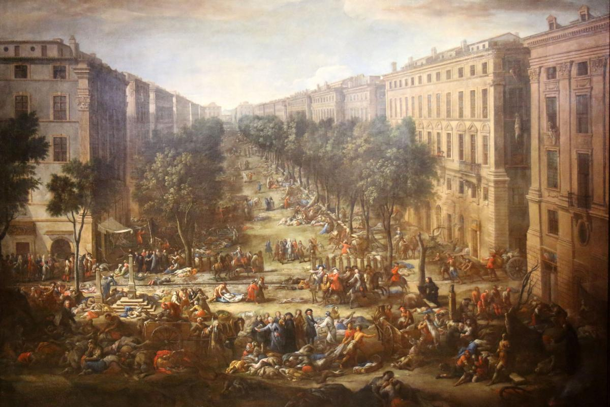 Marseille during the plague