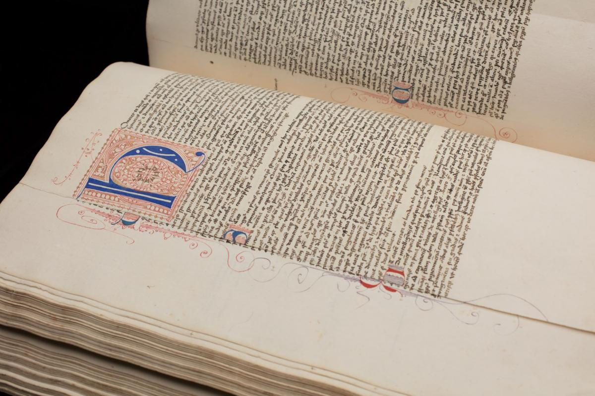 William's 600-page manuscript, De universo (On the Universe)