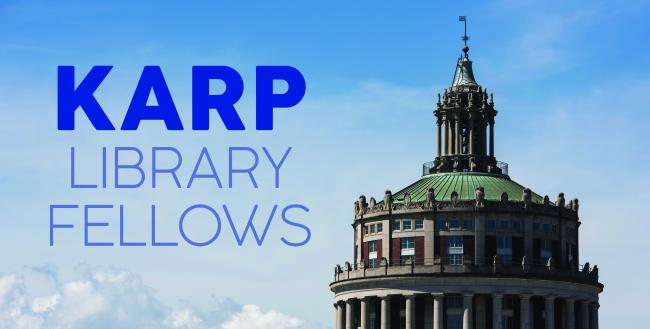 Karp Library Fellows graphic