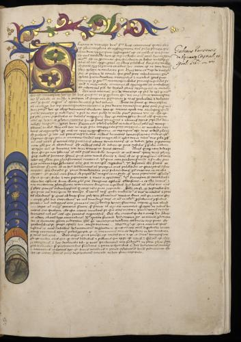 Illustration from Barbarigo's manuscript
