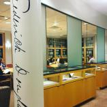 Looking into Plutzik inside of Rare Books